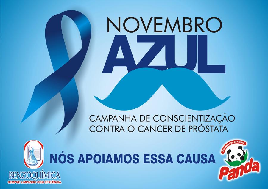 Novembro Azul - A Benzoquimica apoia